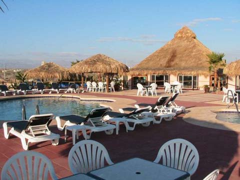 Hilltop Restaurant - Pools - Playa de Oro