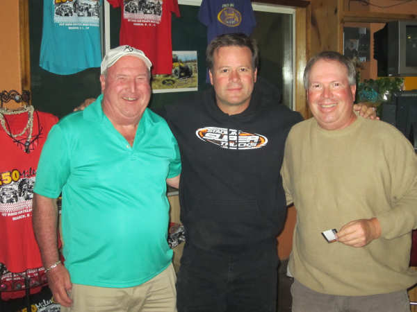 Robby Gordon unwinds at Playa De Oro Hilltop Bar