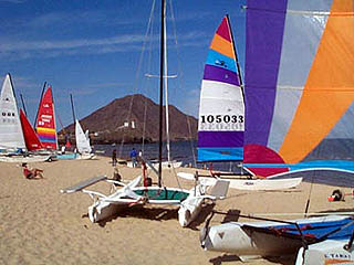 Playa de Oro Sail Boat Baja Recreation